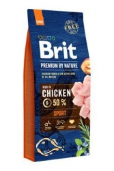 Brit Premium Dog by Nature Sport 15 kg