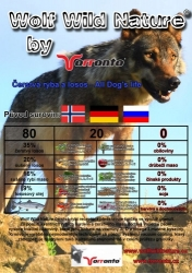 Wolf Wild Nature ryba a losos 2kg