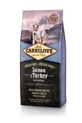 Carnilove Dog Salmon & Turkey for Puppies NEW